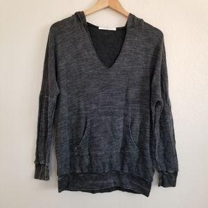 NWOT Project Social T Charcoal Hoodie Sweatshirt M